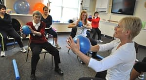 Cancer Exercise Specialist training survivors